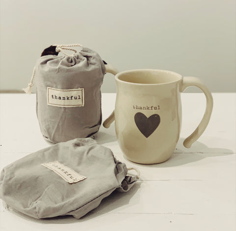 Mug- thankful heart