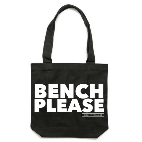 Bench Please Gym Tote