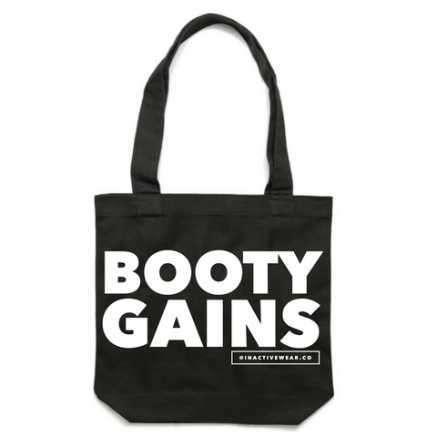 Booty Gains Gym Tote