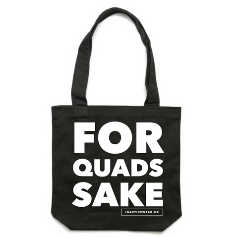 Quad Sake Gym Tote - Inactive Wear
