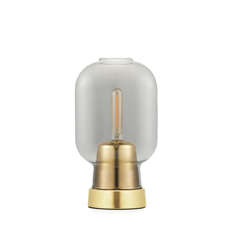 Amp Table Lamp, Brass