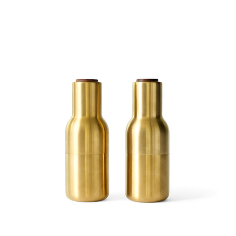 Bottle Grinder Metallic Finishes, Set of Two