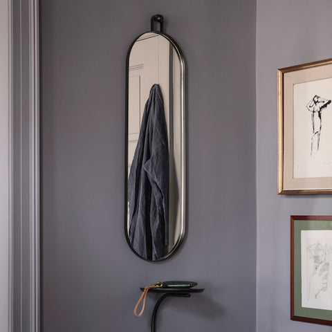 Poise Oval Wall Mirror
