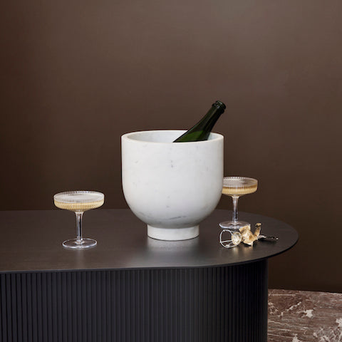 Ripple Champagne Saucer, Set of 2