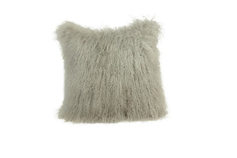 Tibetan Sheepskin Cushion, 45 x 45