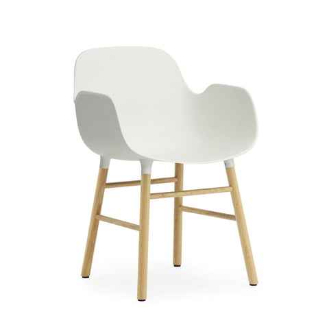 Form Armchair, Wood Leg Finishes