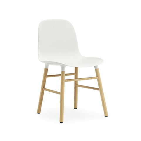 Form Chair, Wood Leg Finishes