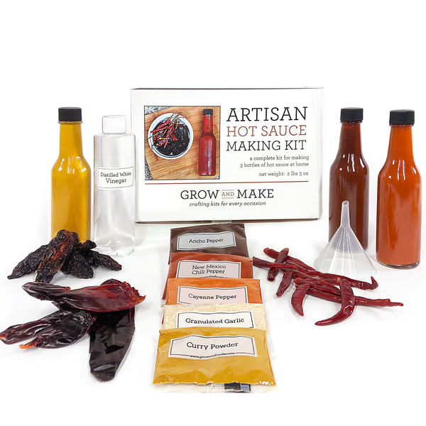 Artisan DIY Hot Sauce Making Kit