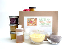 Grow and Make Artisan DIY Mustard Making Kit - Learn how to make your own gourmet mustards
