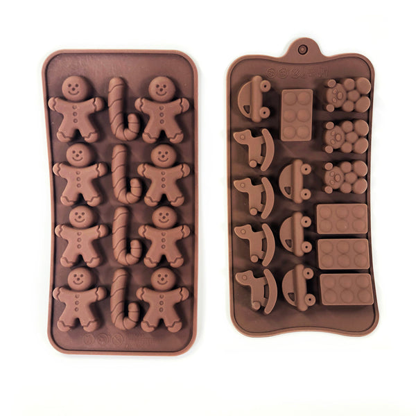 Silicone mold for candy-making, ice cubes, and more