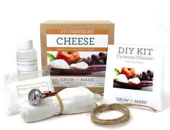 DIY Farmer's Cheese Making Kit