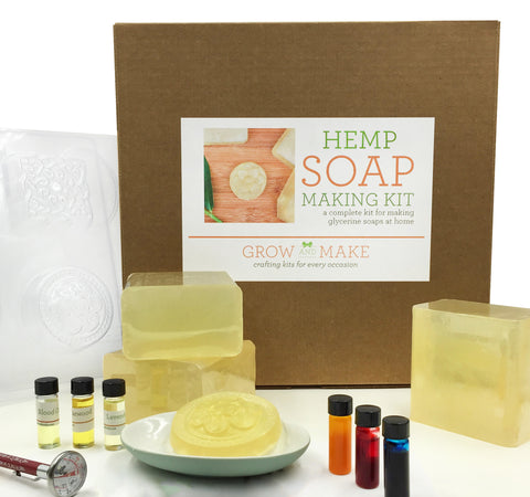 Deluxe DIY Hemp Soap Making Kit
