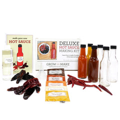 Deluxe DIY Hot Sauce Making Kit