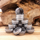 Lip balm making supplies - tin containers