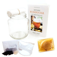 DIY Artisan Kombucha Brewing Kit - Learn how to make your own kombucha at home!