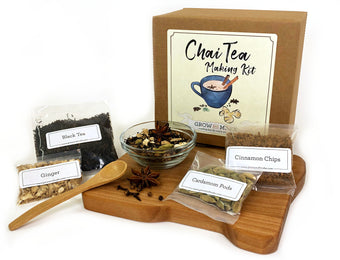 Chai Tea Making Kit - Learn how to blend your own spices