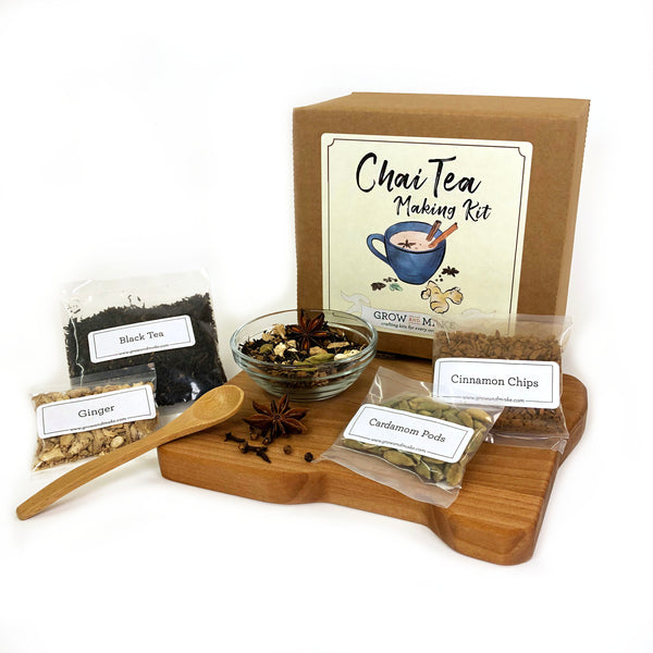 Create your own chai spice blend with a Chai Tea Making Kit