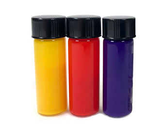 Cosmetic Colorant - glass dram, 3 body safe colors
