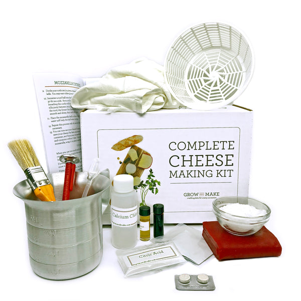 Grow and Make DIY Complete Cheese Making Kit