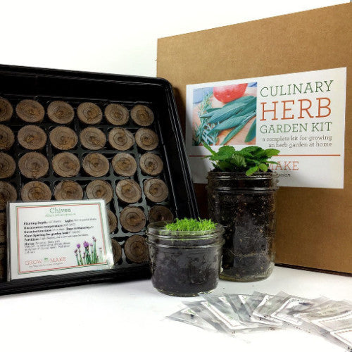 Charmant Garden   DIY Culinary Herb Garden Starter Kit