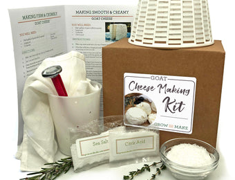 Artisan DIY Goat Chevre Cheese Making Kit