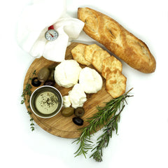Artisan DIY Goat Chevre Cheese Making Kit - Learn how to make goat cheese at home!