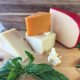 Make fresh cheddar, manchego, colby, and gouda at home with a DIY aged hard cheesemaking kit