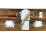 Italian cheese making supplies include cheeselcoth, rennet tablets, flake salt, citric acid