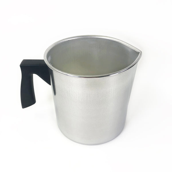 Small Aluminum Pour Pot with Insulated Handle (1 Quart)