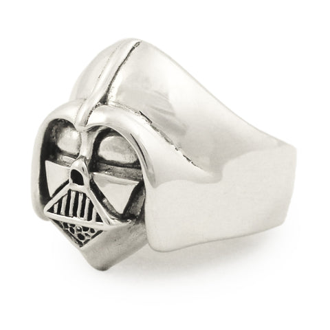 Sterling Silver DARTH VADER RING Star Wars Jewelry Anakin Skywalker