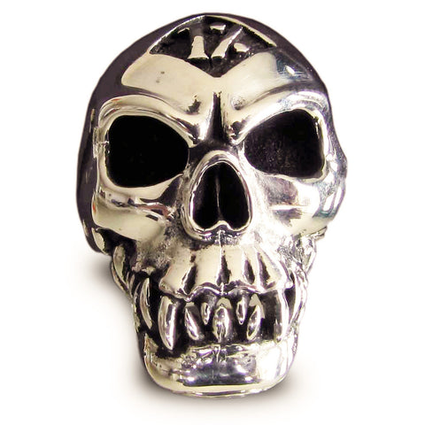 Bronze 1er Zombie Skull Ring 1% Percent Outlaw Biker Ring