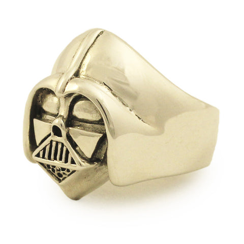 Bronze DARTH VADER RING Star Wars Jewelry Anakin Skywalker