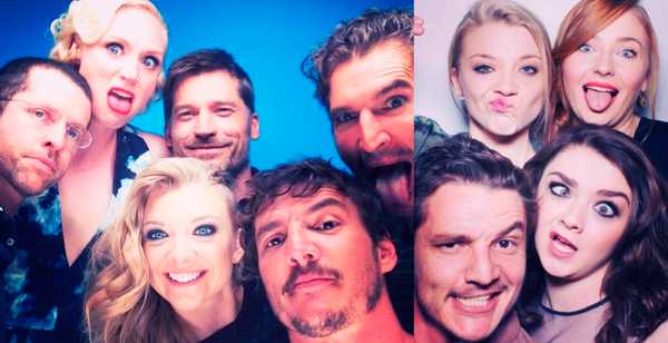 Game of Thrones cast selfies