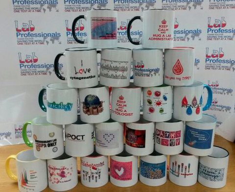 Med lab week gift ideas mugs