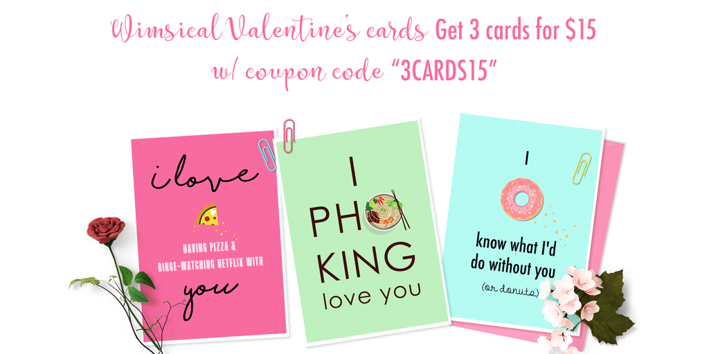 Whimsical Valentine's Day Cards