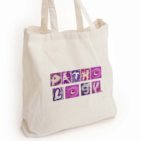Pathology tote bag, med lab week gift