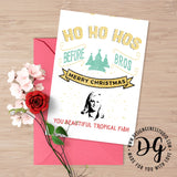 Printable Parks and Rec card, Leslie Knope Christmas card, Leslie Knope quote, Hos before Bros, parks recreation, beautiful tropical fish