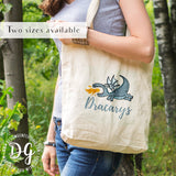 Dracarys tote bag, Daenerys Targaryen quote, Game of Thrones tote bag, Fire and blood, Game of Thrones fan Christmas gift, GoT fan xmas gift