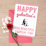 "Printable Galentine's day card, Leslie Knope ""Happy galentine's day"""