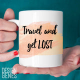 "inspirational mug, ""take more risks"""