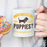 Kimmy Schmidt quote mug, A female dog? nice compliment! fan gift, Unbreakable Kimmy schmidt, TV show fan gift, birthday gift, funny mug