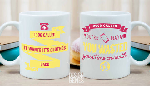 Kimmy Schmidt mug, fan gift, 2090 called you are dead, gift for her, birthday gift, TV show gift, funny mug, Unbreakable Kimmy schmidt quote