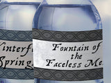 Printable Game of Thrones Party Decoration, Game of Thrones water bottle labels, Thrones Party Decor, GoT theme party, printable labels