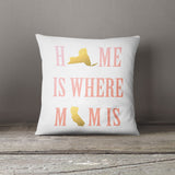 Personalized Mom state cushion for Mother's Day