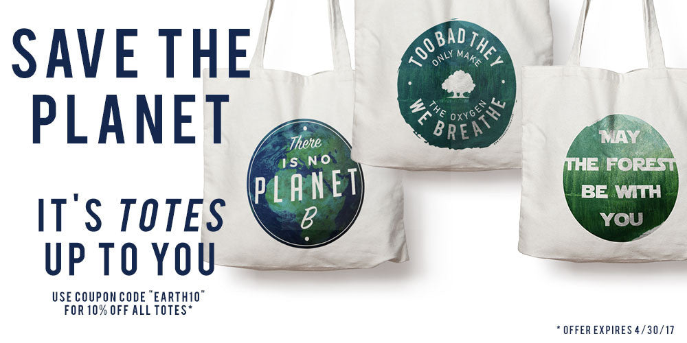 Eco-Friendly Canvas Totes for Earth Day
