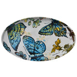 Robert Gordon Pottery - Oval Platter Butterflies, David Bromley