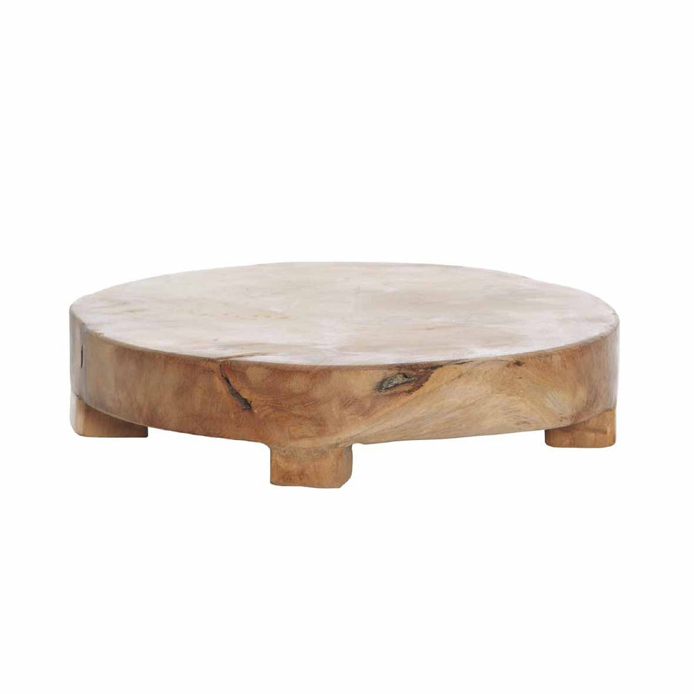 Teak Wood Round Board - Assorted Sizes