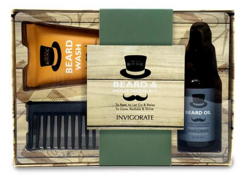 Beard & Moustach Grooming Kit
