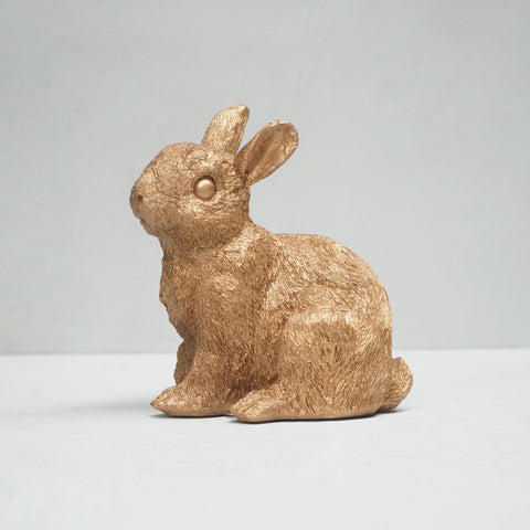 Bunny Money Box Gold
