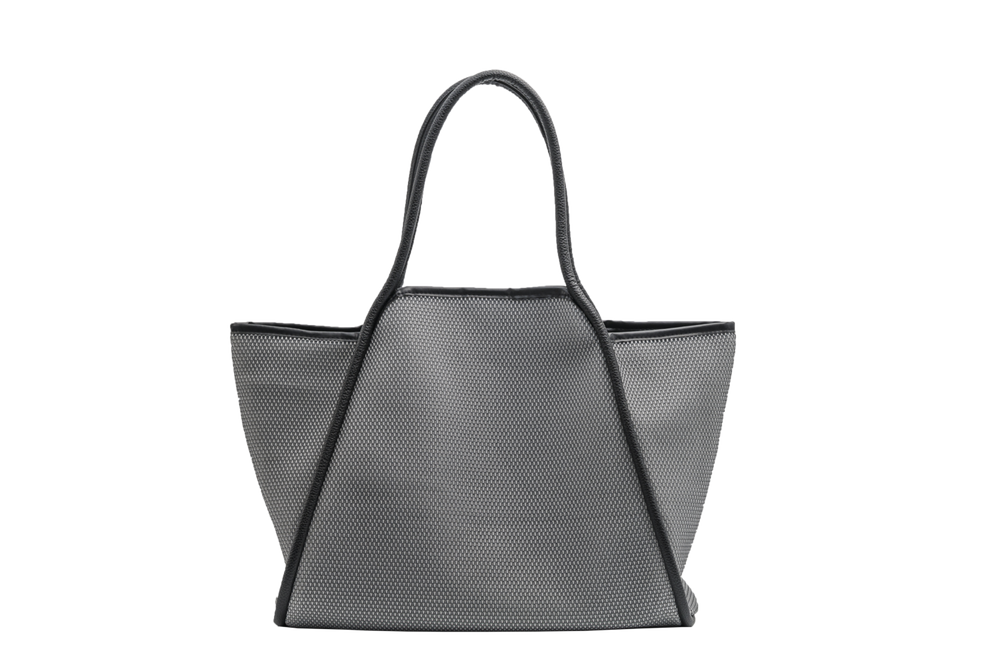 New Large Punch Mesh Tote - Assorted Colours